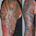 Japanese Dragon Sleeve Tattoo Tattoo Design Thumbnail